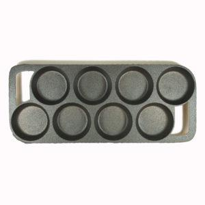 8 IMPRESSION BISCUIT PAN