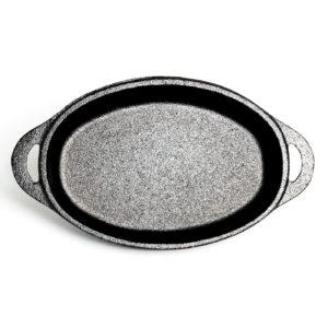 CAST IRON OVAL SINGLE SERVE