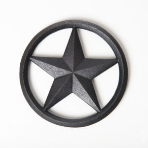 CAST IRON TRIVET STAR