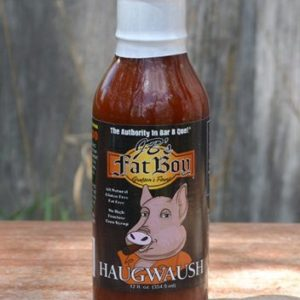FAT BOY HAUGWAUSH BBQ SAUCE