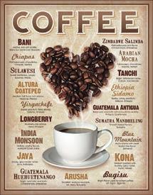 HEART COFFEE TIN