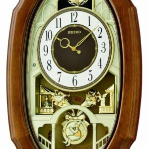 Melodies in Motion: Town Square Musical Wall Clock