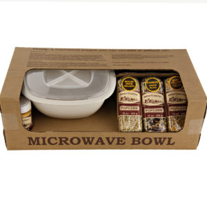 Microwave Popcorn Gift Bowl Set