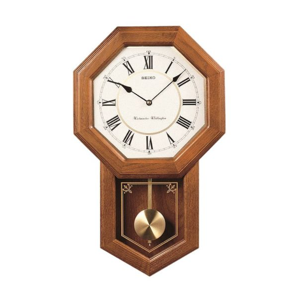 Woodward pendulum wall clock light oak dutch country general store woodward pendulum wall clock light oak aloadofball Choice Image