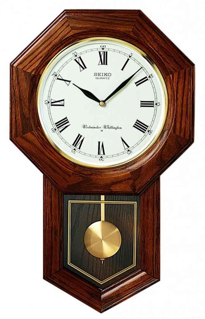 Woodward Pendulum Wall Clock Dutch Country General Store