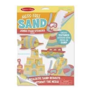 Jumbo Foam Stickers - Beach
