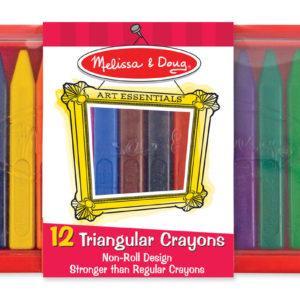 12 Triangular Crayons