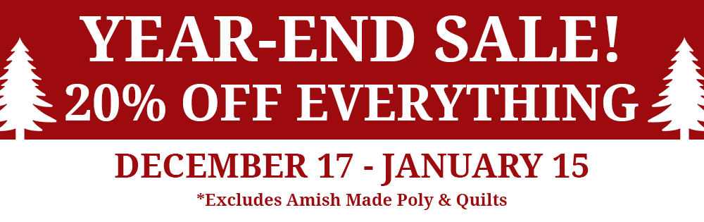 Dutch Country End of Year Sale