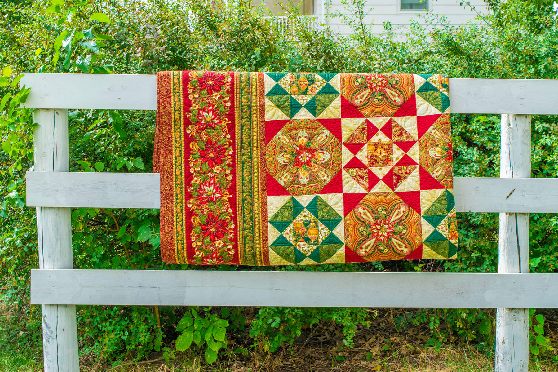 Christmas Quilt Pattern Anna Bella Dutch Country General Store